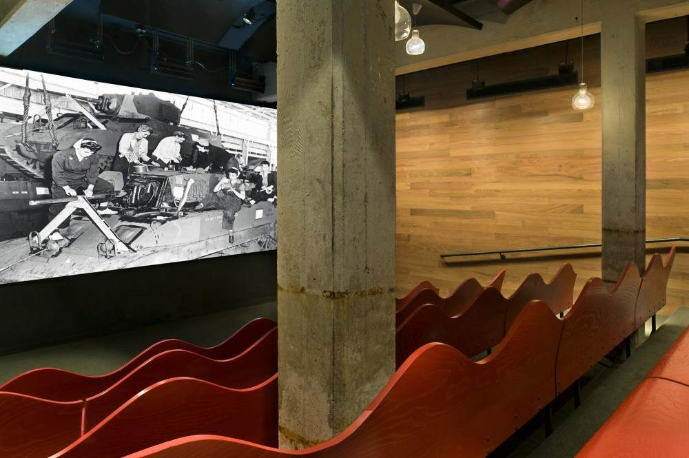 Rosie the Riveter Visitor Center / Marcy Wong Donn Logan Architects
