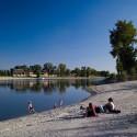 Waterfront Kopaszi Dam / T2.a Architects © Zsolt Batár