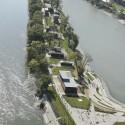 Waterfront Kopaszi Dam / T2.a Architects © Attila Polgár