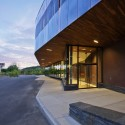 Franklin Regional Transit Center / Charles Rose Architects Inc. © Peter Vanderwarker