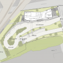 Franklin Regional Transit Center / Charles Rose Architects Inc. Site Plan 01