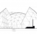 Peoples Meeting Dome / Kristoffer Tejlgaard & Benny Jepsen Cross Section 01