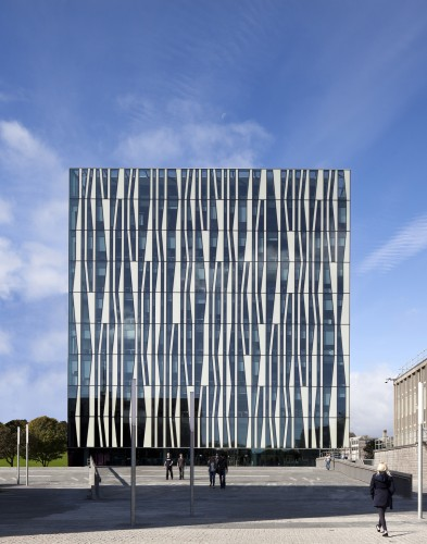 University of Aberdeen New Library / Schmidt Hammer Lassen Architects © Adam Mørk