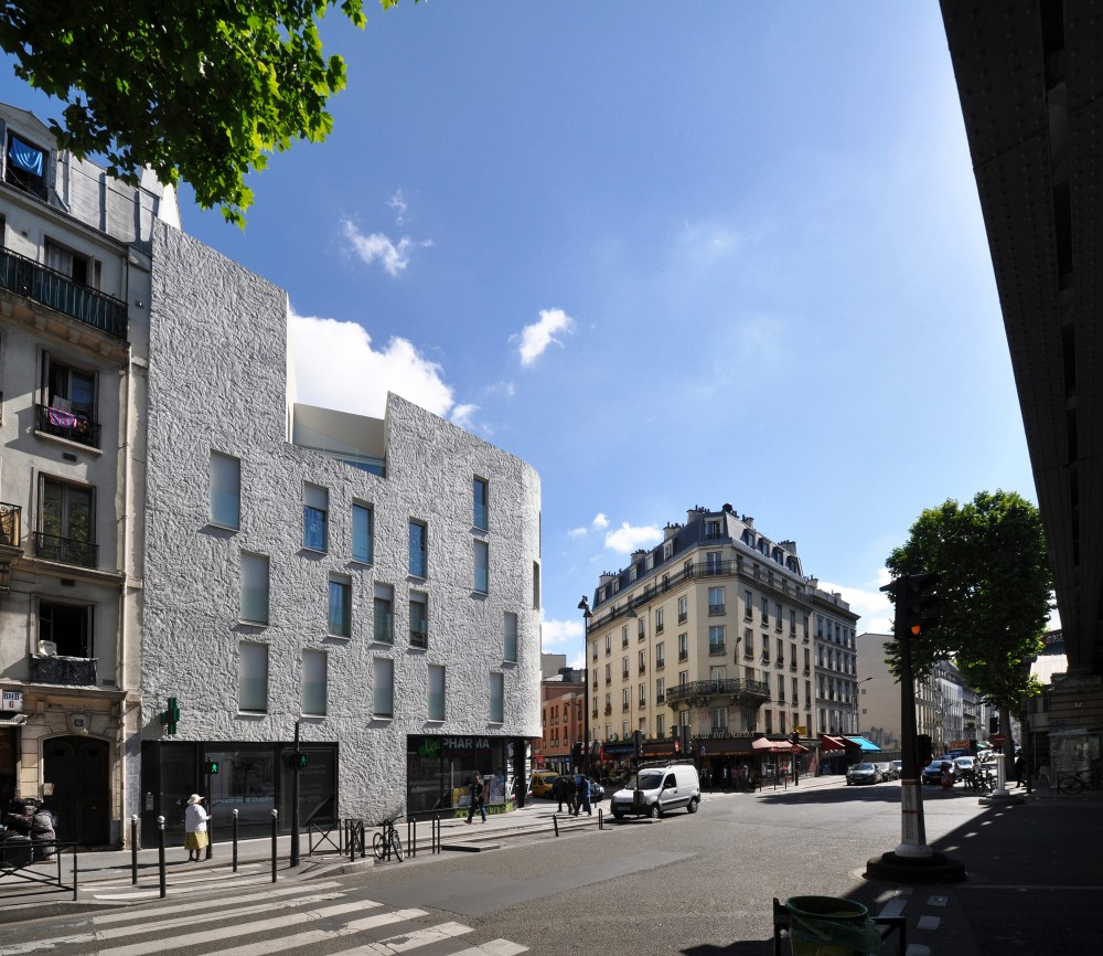Social Housing in Paris / Bigoni Mortemard Architects