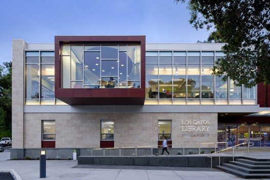 Los Gatos Public Library  / Noll &amp; Tam Architects  David Wakely