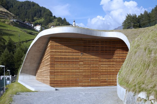 Hydroelectric Power Station Punibach / monovolume architecture + design Courtesy of monovolume architecture + design