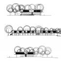 Jean Carrière Nursery School / Tectoniques Architects Elevation 01