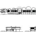 Jean Carrière Nursery School / Tectoniques Architects Elevation 02