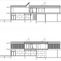Jean Carrière Nursery School / Tectoniques Architects Elevation 03