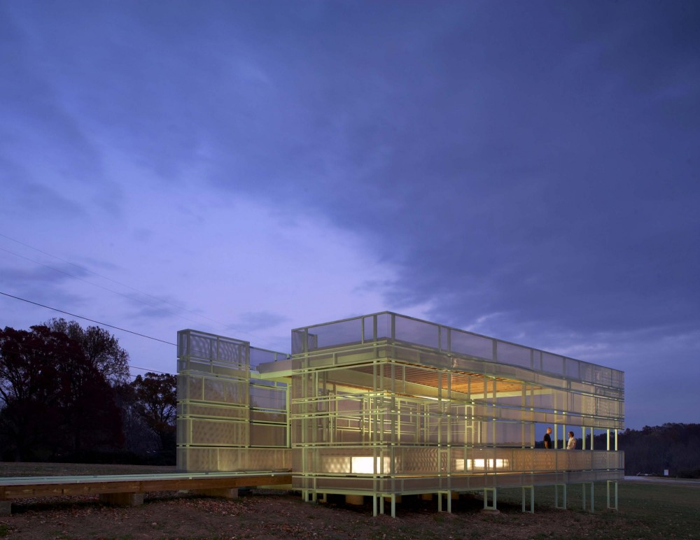 North Carolina Museum of Art Sculpture Park Pavilion / Tonic Design