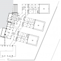 Auotmative Industry Exporters Union Technical and Industrial High School / Oficina Asma Bahçeleri Houses 1st Basement Floor Plan 01