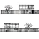 Médiathèque grand M / Atelier d'architecture King Kong Elevation 01