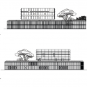 Médiathèque grand M / Atelier d'architecture King Kong Elevation 02