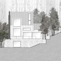 La Muna / Oppenheim Architecture + Design South Elevation 01