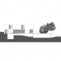 House in Quinta Patino / Frederico Valsassina Arquitectos West Elevation 01