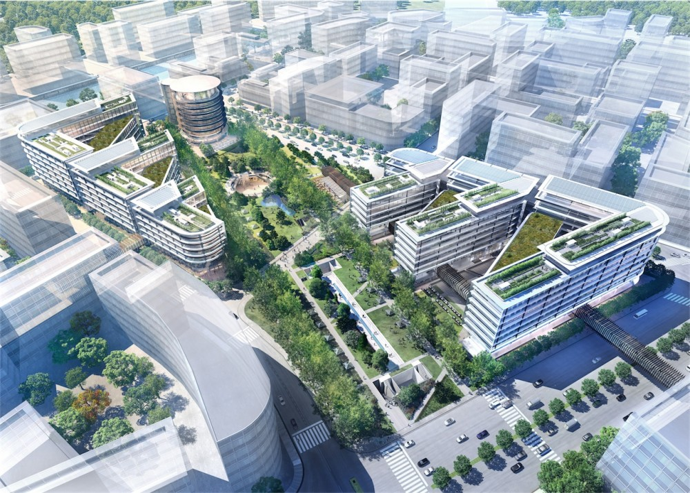 Foster + Partners break ground on Shanghai mixed-use centre
