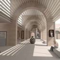National Museum of Afghanistan Competition Winners (15) honorable mention - Courtesy of Lawrence and Long Architects