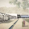 National Museum of Afghanistan Competition Winners (17) honorable mention - Courtesy of Luisa Ferro, Architect