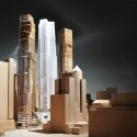 Gehry and Mirvish unveil Toronto 'Sculptures'  (2) View form the southwest, Courtesy of Gehry International Inc.