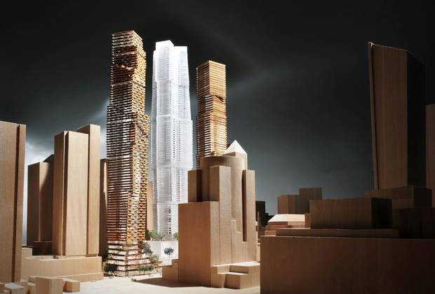 Gehry and Mirvish unveil Toronto 'Sculptures'