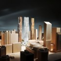 Gehry and Mirvish unveil Toronto 'Sculptures'  (4) View form the south, Courtesy of Gehry International Inc.