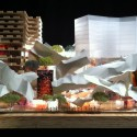 Gehry and Mirvish unveil Toronto 'Sculptures'  (1) Podium, Courtesy of Gehry International, Inc