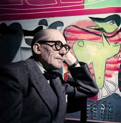 14 fun facts about le corbusier archdaily. Black Bedroom Furniture Sets. Home Design Ideas