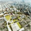 Seattle Center HUB (Hybrid Urban Bioscape) Competition Entry (3) Courtesy of Aétrangère