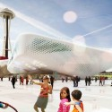 Seattle Center HUB (Hybrid Urban Bioscape) Competition Entry (2) Courtesy of Atrangre