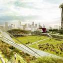 Seattle Center HUB (Hybrid Urban Bioscape) Competition Entry (5) Courtesy of Aétrangère
