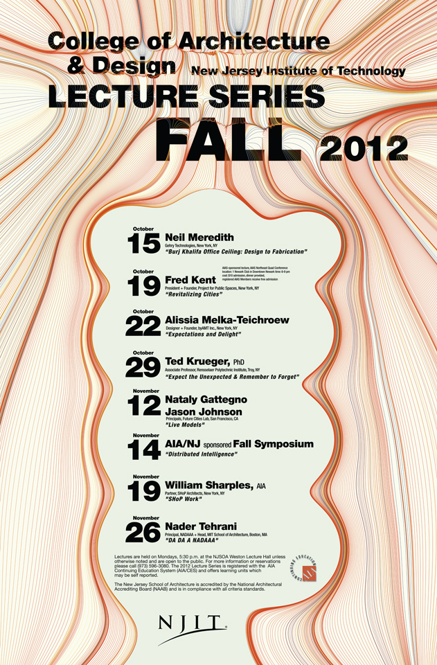 NJIT Fall 2012 Lecture Series
