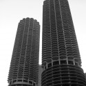 """Inside Marina City: A Project by Iker Gil and Andreas E.G. Larsson"" (6) Marina City / Bertrand Goldberg © Flickr User: TRAFFIK [US]"