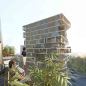 The Massna Competition Entry (3) Courtesy of Harmonic + Masson Architects and Comte Vollenweider Architects