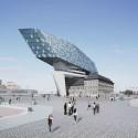 Port House: Antwerp Headquarters (2) Courtesy of Zaha Hadid Architects