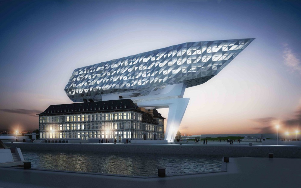 Port House: Antwerp Headquarters / Zaha Hadid Architects