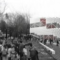Daegu Gosan Public Library Competition Entry (1) Courtesy of PRAUD