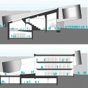 Daegu Gosan Public Library Competition Entry (12) sections