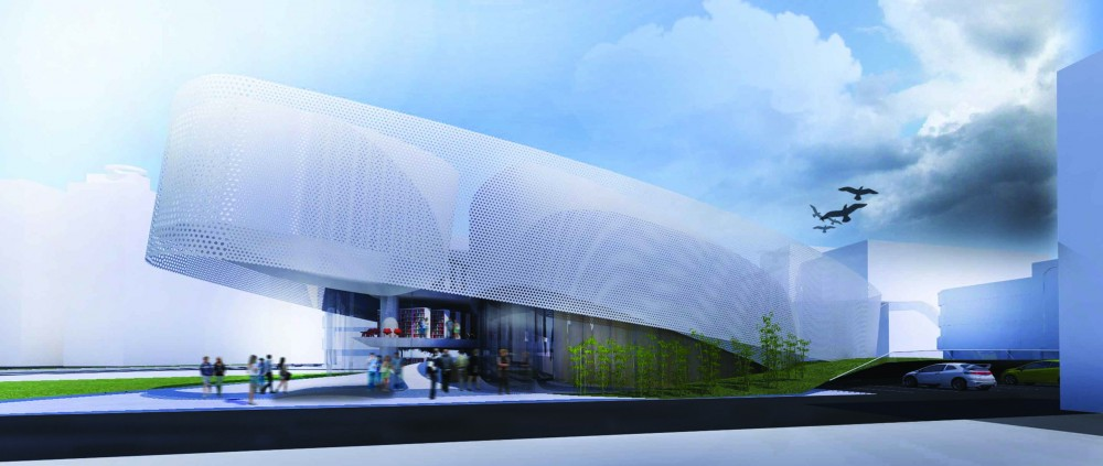 Daegu Gosan Public Library Competition Entry / JBAD