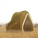 &#039;Harvest Wave&#039; Exhibition for the Sukkahville Design Competition (7) Courtesy of Andrew McGregor, Robert Miller, Raymond Bourraine, Teresa Cacho