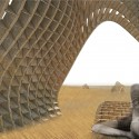 &#039;Harvest Wave&#039; Exhibition for the Sukkahville Design Competition (8) Courtesy of Andrew McGregor, Robert Miller, Raymond Bourraine, Teresa Cacho