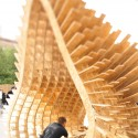 &#039;Harvest Wave&#039; Exhibition for the Sukkahville Design Competition (5) Courtesy of Andrew McGregor, Robert Miller, Raymond Bourraine, Teresa Cacho