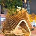 &#039;Harvest Wave&#039; Exhibition for the Sukkahville Design Competition (2) Courtesy of Andrew McGregor, Robert Miller, Raymond Bourraine, Teresa Cacho