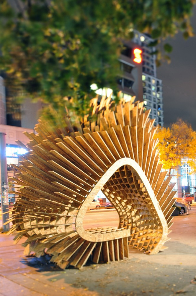 'Harvest Wave' Exhibition for the Sukkahville Design Competition / Various Architects