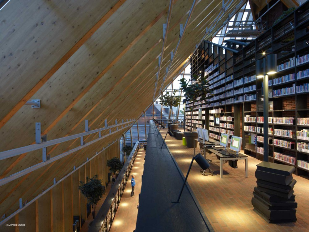 MVRDV completes Book Mountain and Library Quarter Spijkenisse