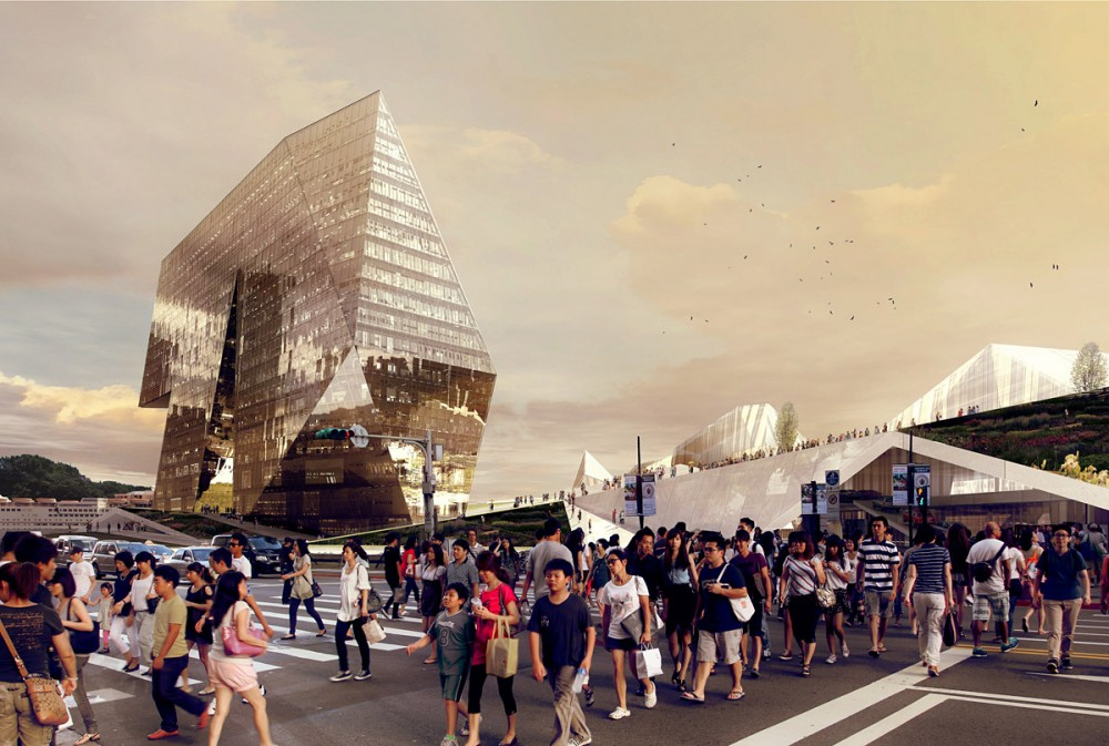Keelung Harbor Competition Entry / PAR + SES
