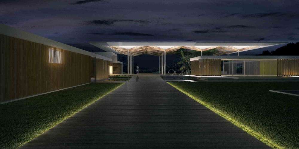 Olympic Golf Course Clubhouse Proposal / RUA Arquitetos