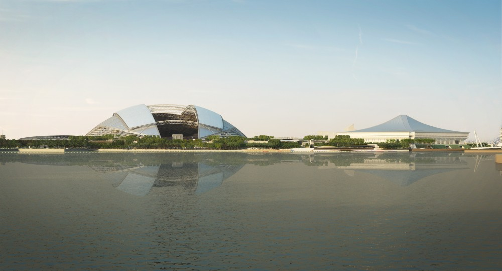 In Progress: Singapore Sports Hub / Arup