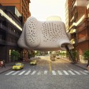 'Heart of the District' Competition Entry (3) Courtesy of ZA Architects