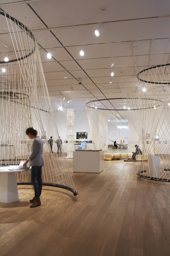 'Building: Inside Studio Gang Architects' Exhibition