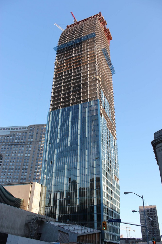 "Libeskind's ""L Tower"" Tops Out"